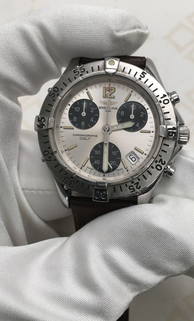 Breitling are known for their iconic chronograph design