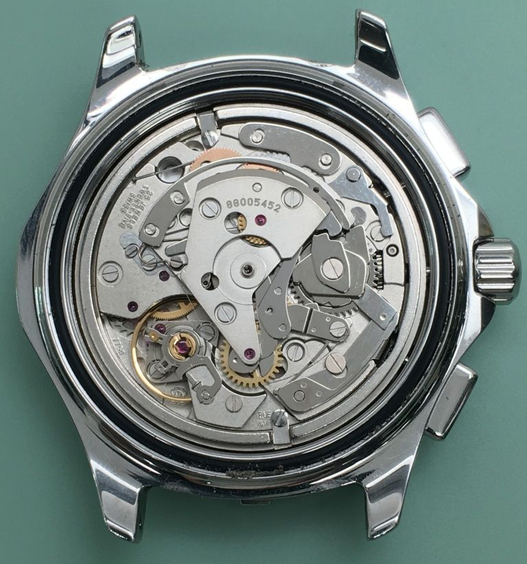 How does a chronograph watch function