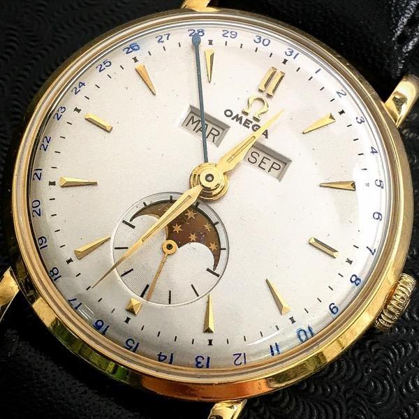 Omega Speedmaster dapper Triple Date Watch