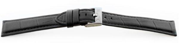 14533 - Black Alligator Grain Watch Band XL