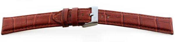 14533 - Cognac Alligator Grain Watch Band XL