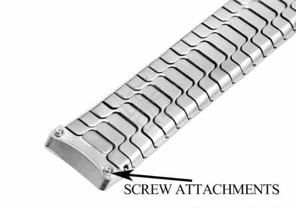 15mm wide Ebel Sport Classic bracelet with screw attachements - EB447
