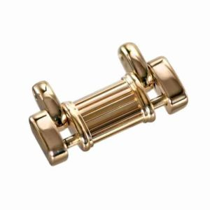 15mm wide gold bracelet link for Piaget polo watch