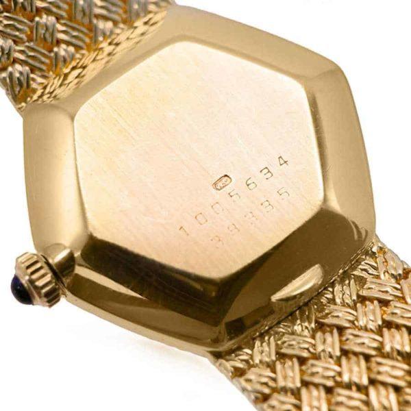 18K Yellow Gold (750 Gold) baume mercier watch
