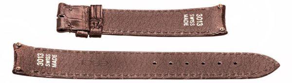 18mm dark brown crocodile skin strap for Ebel Sport Classic watch 3013 Swiss-Made EB478