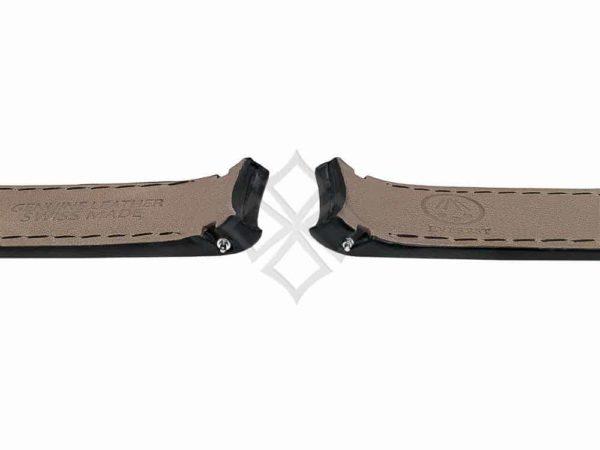 2.0mm springbars inside Everest Black leather band