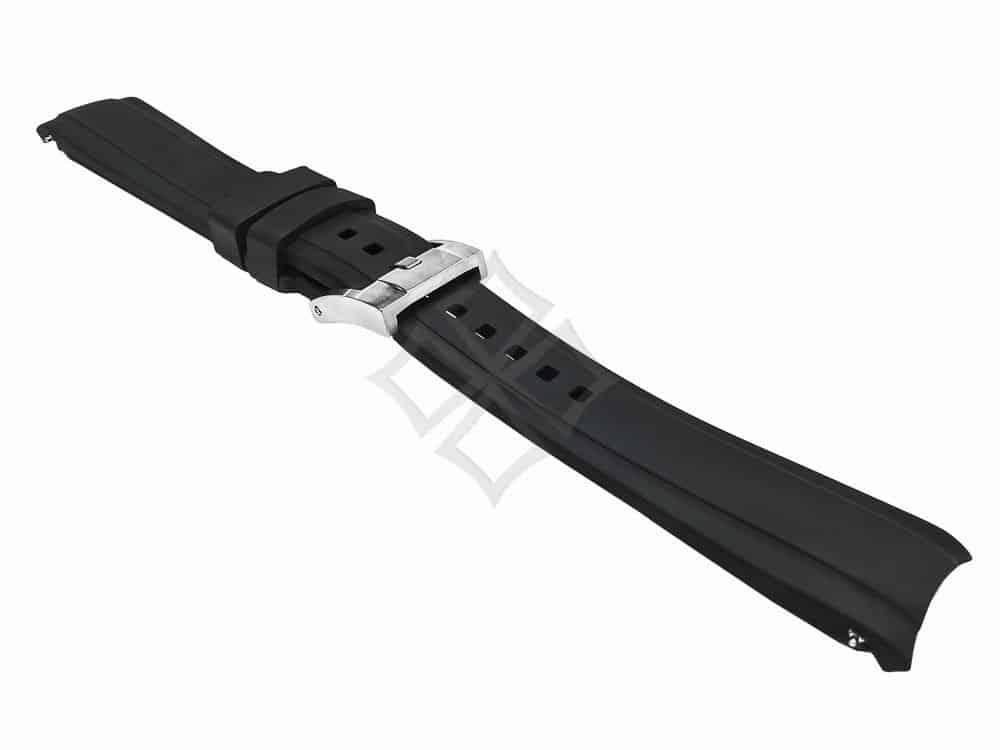 20mm Swiss Made Rubber watch strap for Rolex Sport models