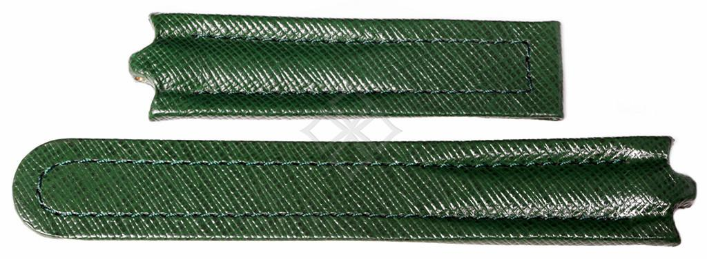 22mm green leather watch band for Ebel Sportwave - EB909