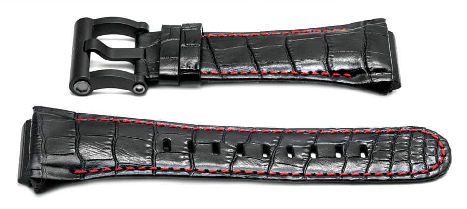 tw steel ceo tech 48mm black watch band