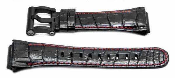 tw steel ceo tech 44mm black watch band