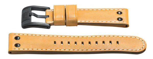 24mm tan leather watch strap - twb66