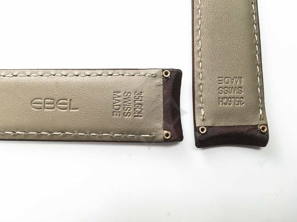 35L6CH Ebel Swiss Made watch strap for Ebel 1911 Discovery - EB203