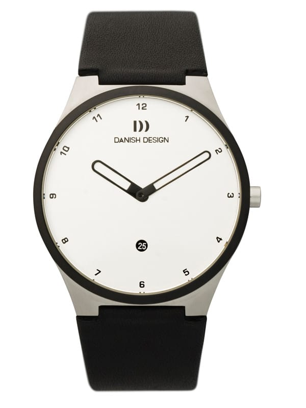 Danish Design Men's Sapphire White-Dial Stainless Steel Anna Gotha Wristwatch (IQ12Q884)