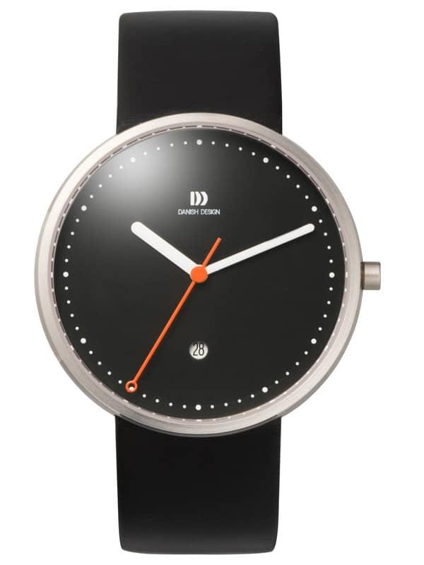 Danish Design Men's Sapphire Black-Dial Stainless Steel Martin Larsen Wristwatch (IQ13Q723)