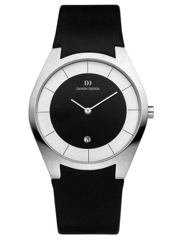 Danish Design Men's Sapphire Two-Tone Dial Stainless Steel Wristwatch by Tirtsah (IQ16Q890)