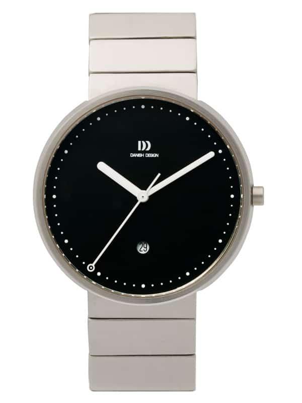 Danish Design Men's Sapphire Black-Dial Stainless Steel Martin Larsen Wristwatch (IQ63Q723)