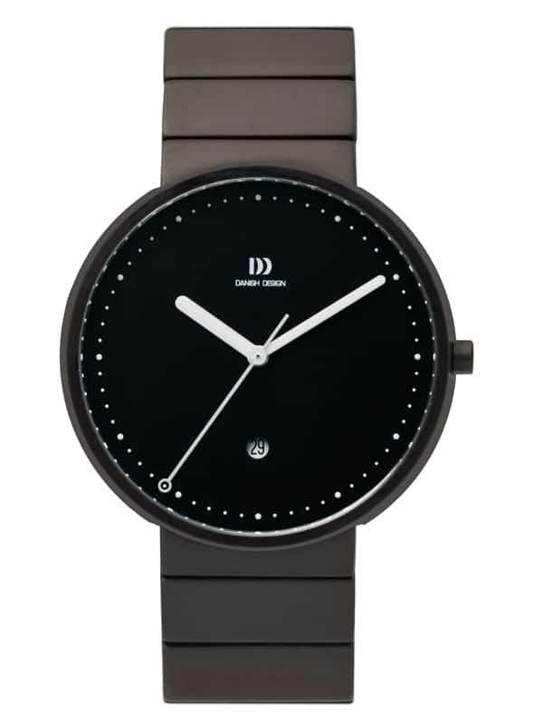 Danish Design Men's Sapphire Black-Dial Stainless Steel Martin Larsen Wristwatch (IQ66Q723)