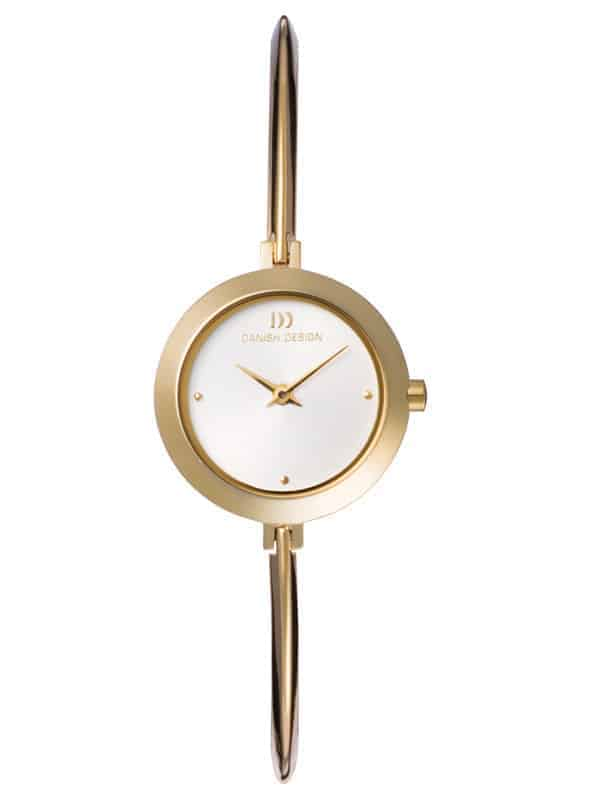 Danish Design Women's Sapphire White-Dial Stainless Steel Wristwatch with Bangle (IV05Q705)