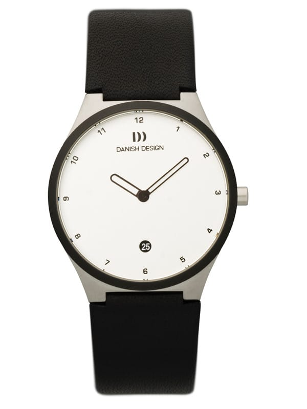 Danish Design Women's Sapphire White-Dial Stainless Steel Anna Gotha Wristwatch (IV12Q884)