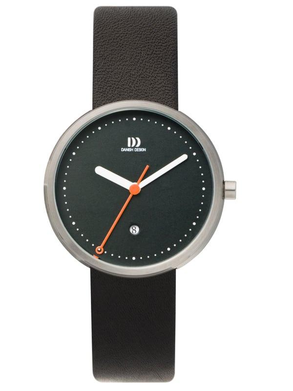 Danish Design Women's Sapphire Black-Dial Stainless Steel Martin Larsen Wristwatch (IV13Q723)