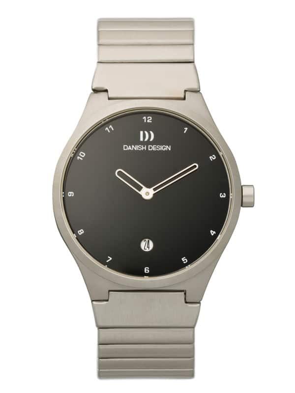 Danish Design Women's Sapphire Black-Dial Stainless Steel Anna Gotha Wristwatch (IV63Q884)