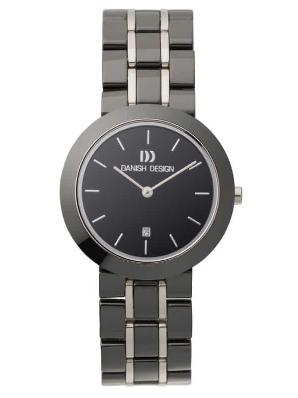 Danish Design Women's Black-Dial Ceramic Wristwatch (IV64Q833)
