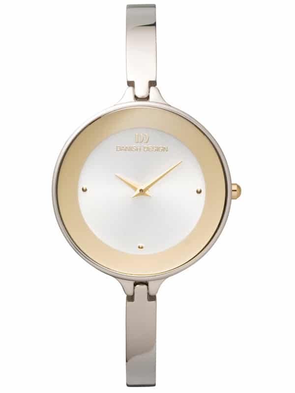 Danish Design Women's Two-Tone Stainless Steel Wristwatch with Bangle (IV65Q747)