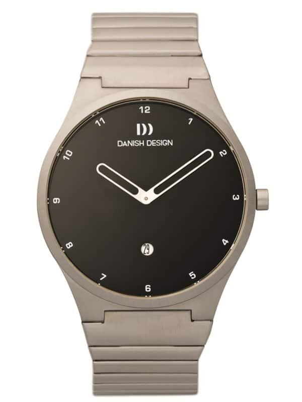 Danish Design Men's Sapphire Black-Dial Stainless Steel Anna Gotha Wristwatch (IQ63Q884)