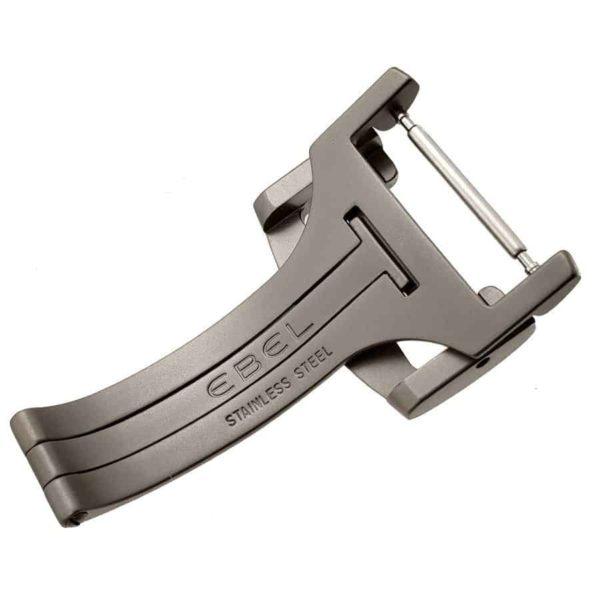 Authentic Ebel 20mm Deployment Clasp Titanium Style