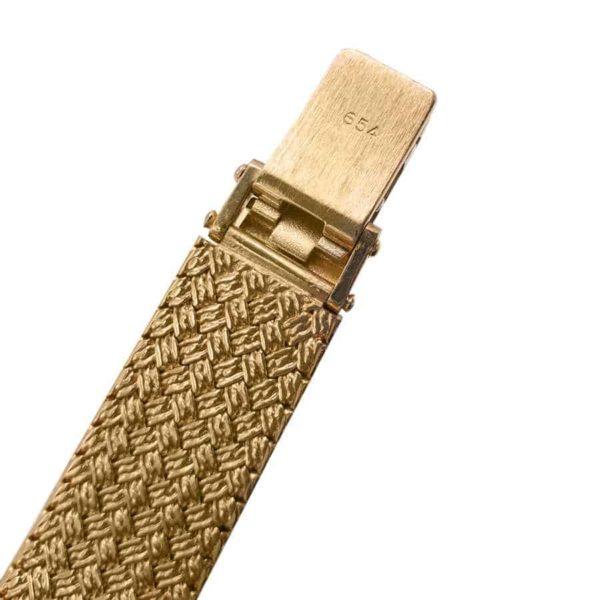 baume mercier 18K Yellow Gold (750 Gold) bracelet