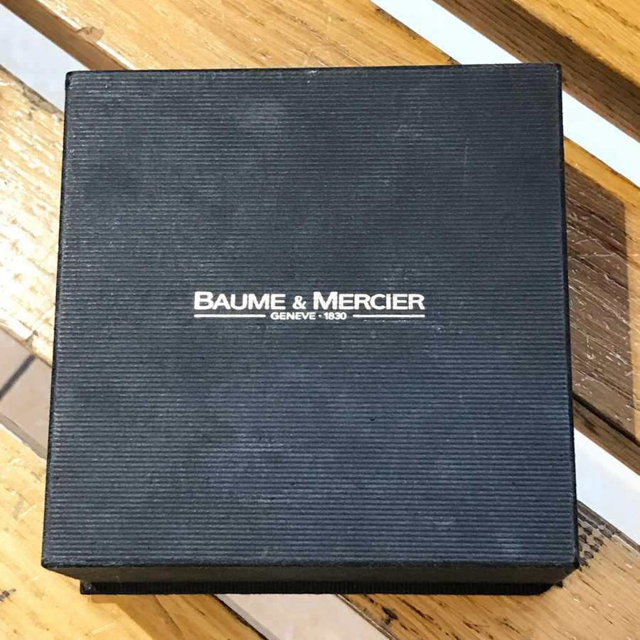 Baume & Mercier Catwalk original box