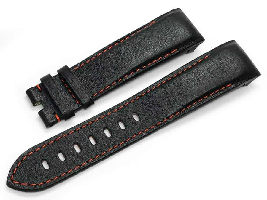 Black-Leather-Strap-with-Red-Stitch-for-Graham-Silverstone-Tourist-Trophy