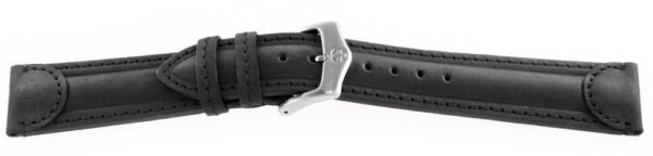 Genuine-Leather-Watch-Band-Aged-Black