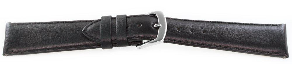 Smooth Leather Watch Band / Quick Release Black