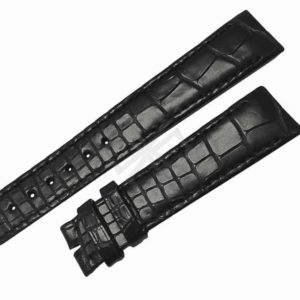 Black Alligator Skin Watch Band for Gents Ebel 1911 - eb614