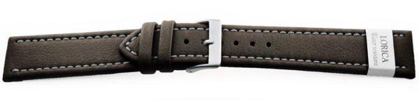 Genuine-Leather-Watch-Band-Microfiber-Black