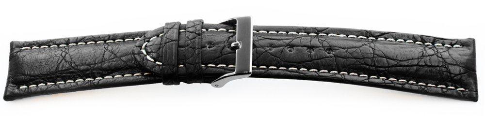 Genuine-Crocodile-Watch-Band-Black
