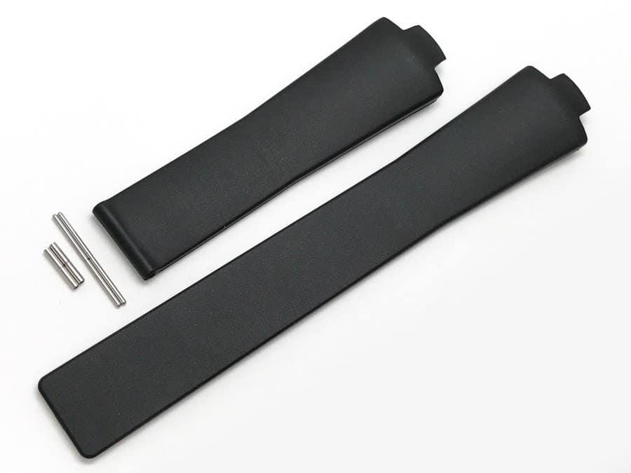 Brand New Genuine Tag Heuer Kirium 21mm black rubber strap TG600