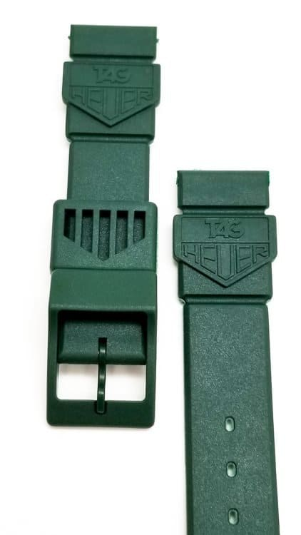 Brand New Original Tag Heuer FORMULA 1 F1 Green Plastic band
