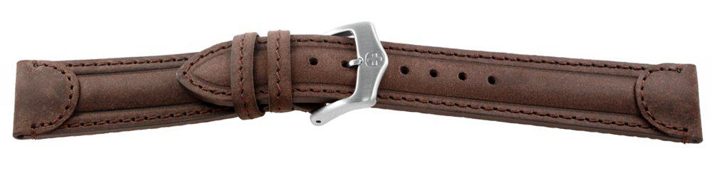 Genuine-Leather-Watch-Band-Aged-Brown