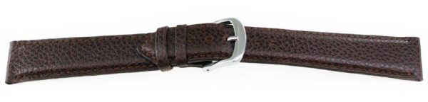 Rare Calfskin Leather Watch Band Brown