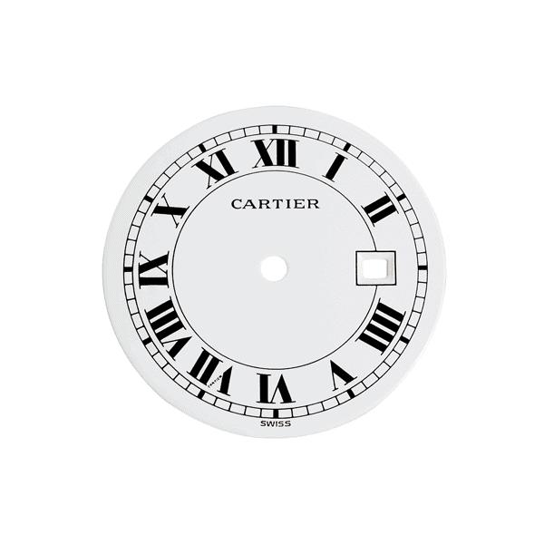 Replacement Dial for Cartier Santos Octagonal Men's Automatic Watch