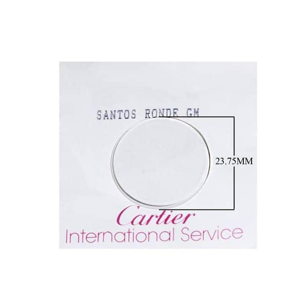 ocrcms - Original Round Crystal for Men's Cartier Santos Octagonal