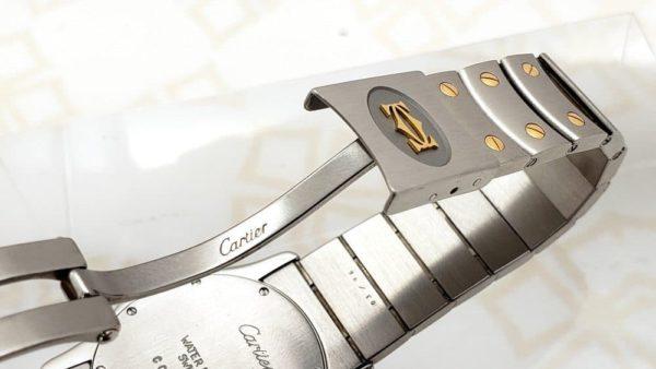 Cartier Santos deployment buckle