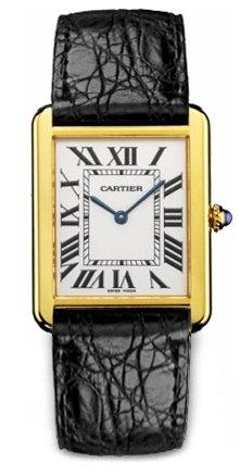 Cartier Tank Solo Tempo Men's W1018855
