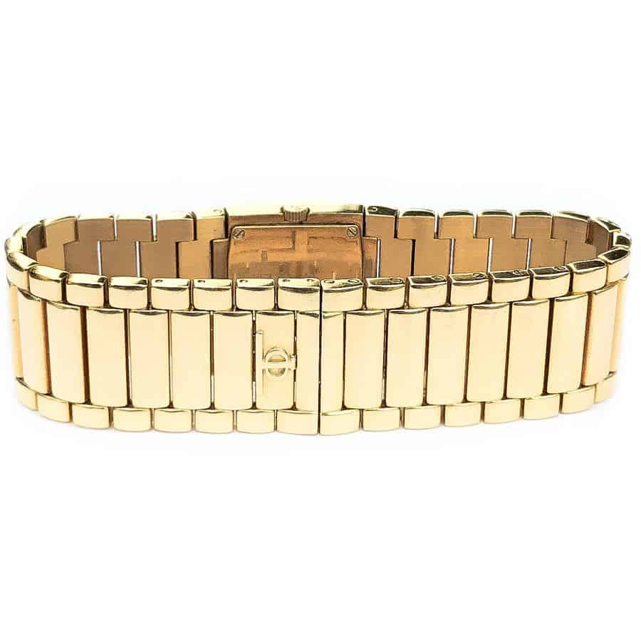 Catwalk 18K Yellow Gold Ladies Diamond Timepiece