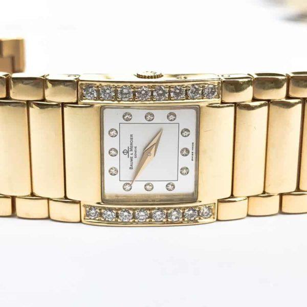 MV045223 18K Gold Ladies Diamond Analog Timepiece