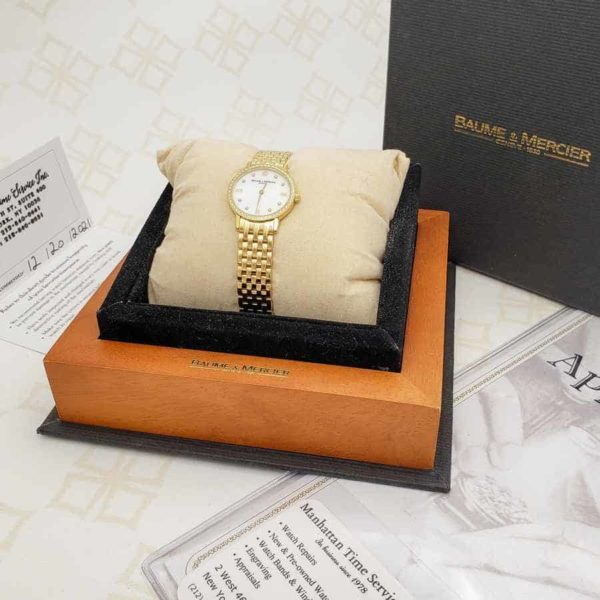 Certified New Ladies Baume & Mercier Classima Executives
