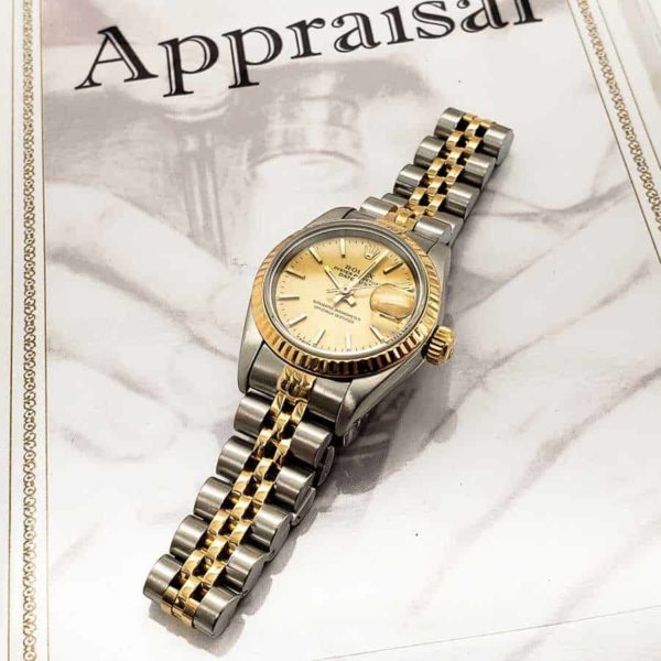 Certified Pre-Owned Ladies Rolex Datejust Two-Tone 26mm