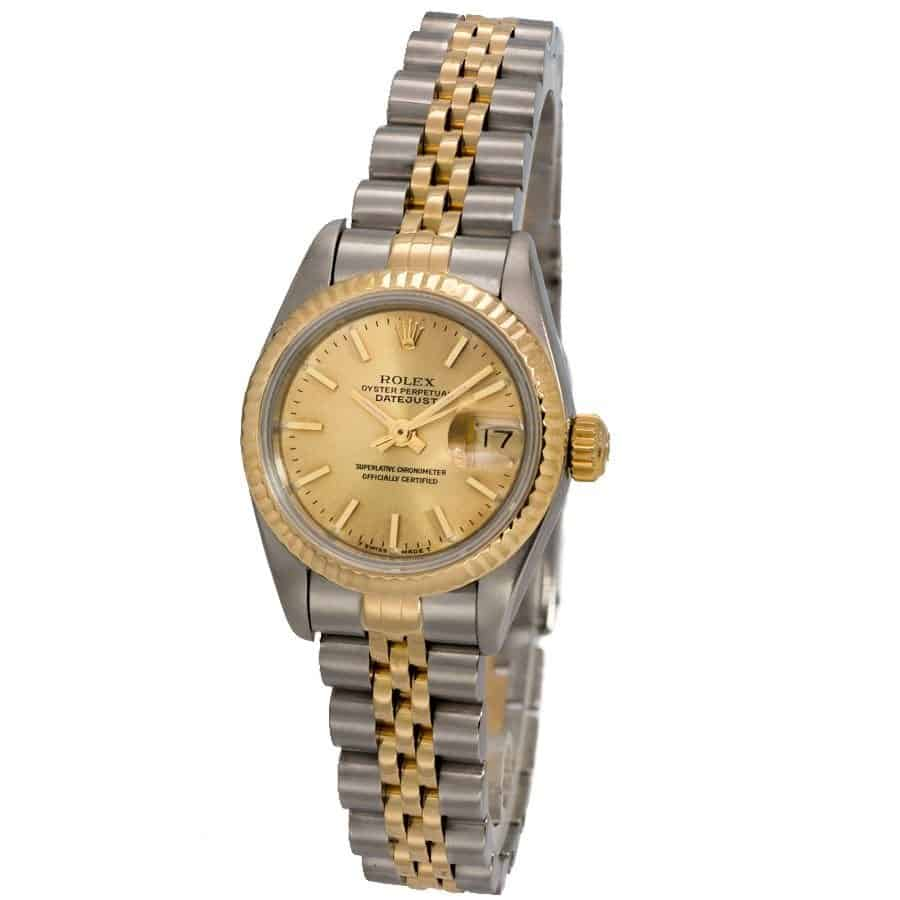 Certified Rolex Datejust Ladies Jubilee 26mm - 69173